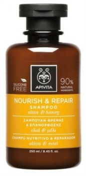 offerta Apivita Sa Apivita Nourish e Repair Shampoo Olive honey 250 Ml