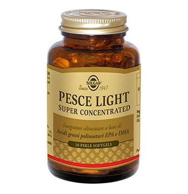 Solgar Linea Colesterolo Pesce Light Super Concentrated Integratore 30 Perle