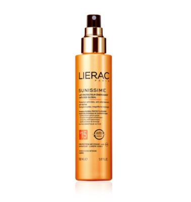 Lierac Linea Sole Sunissime SPF15 Latte Energizzante Anti-Age Global Corpo 150ml