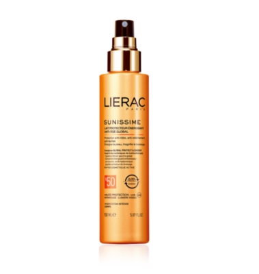 Lierac Linea Sole Sunissime SPF50 Latte Energizzante Anti-Age Global Corpo 150ml