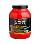 Enervit Sport Linea Gymline Muscle 100 Whey Protein Concentrate Cacao 2x700g