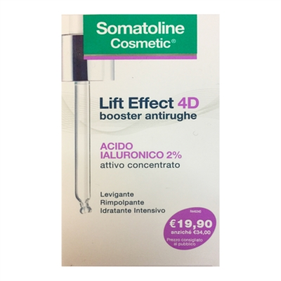 Somatoline Cosmetic Linea Lift Effect 4D Booster Antirughe Intensivo Viso 30 ml